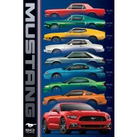 Ford Mustang - Evolution