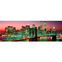 New York - Manhattan Night Skyline