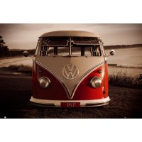 VW Red Kombi