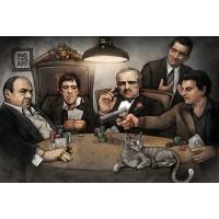 Big Chris - Gangsters Playing Poker