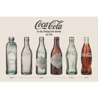 Coca Cola - Old bottles