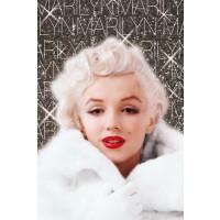 Marilyn Monroe - White Coat