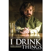 Game of Thrones - Tyrion - Drink Quote