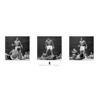 Muhammad Ali V Liston -Tryptych - Corbis