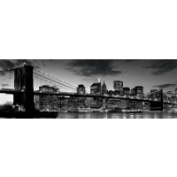 New York - Brooklyn Bridge - Dusk