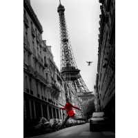 Paris - Red Coat