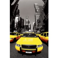 New York - Taxis - Time Square