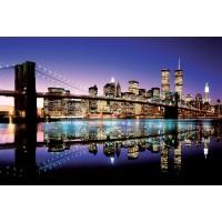 New York - Brooklyn Bridge - (Colour)