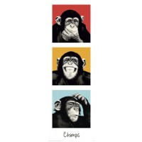 Monkey Chimp Pop Art