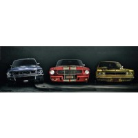 Ford Mustang - Three Muscle Cars