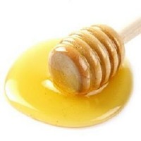 Honey with Spoon