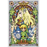 The Legend of Zelda - Stained Glass