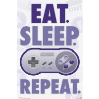 Nintendo - Eat. Sleep. Repeat.