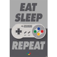Nintendo - Eat Sleep Repeat