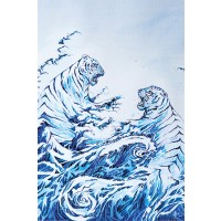 Marc Allante - The Crashing Waves - Hokusai Heritage