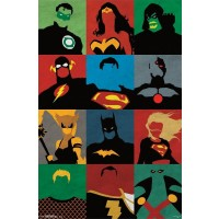 DC Comics - Justice League Minimalist