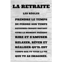 La retraite - les règles